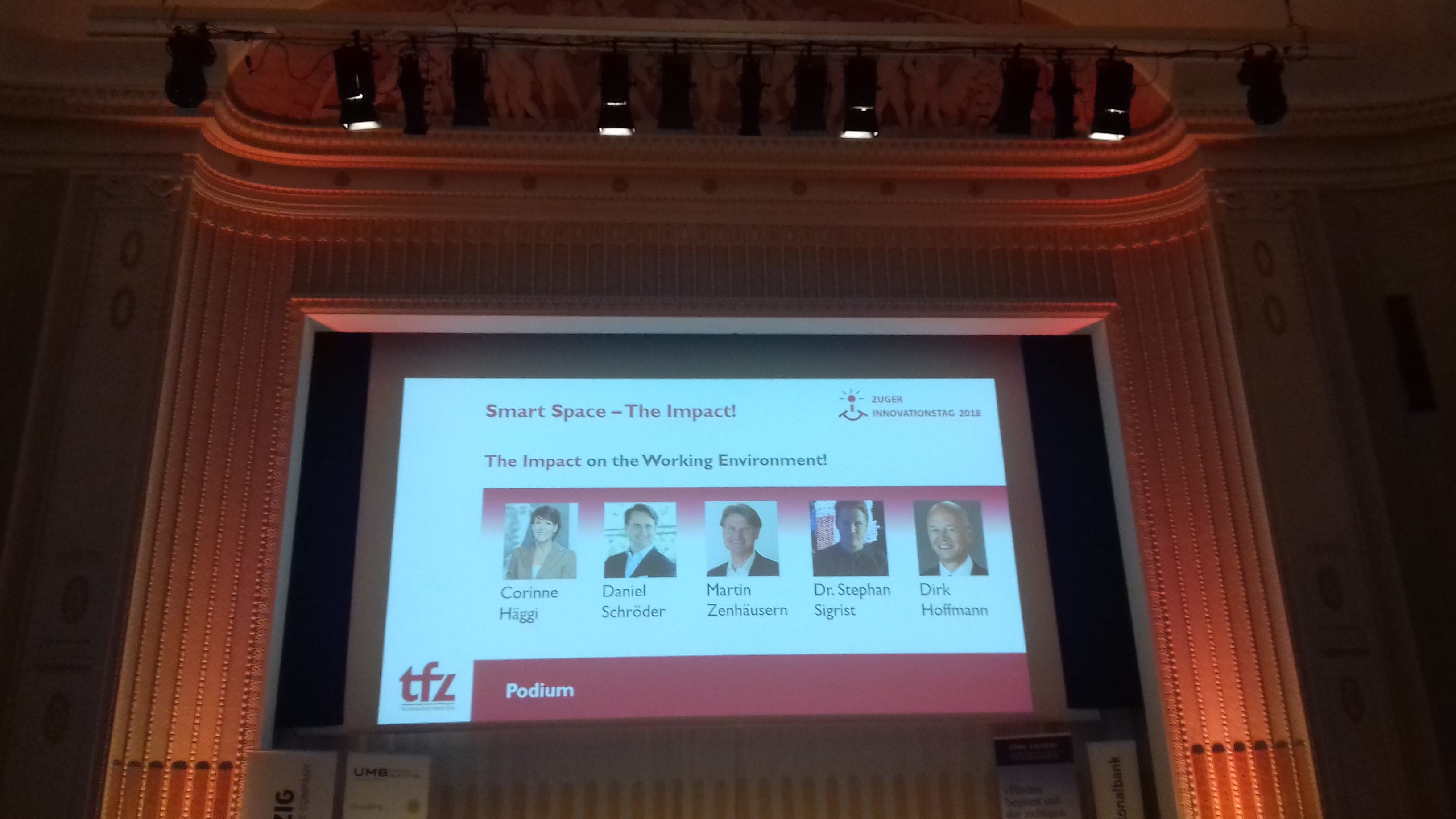 Smart Spaces – Der Zuger Innovationstag 2018 – «Smart Space – The Impact!»